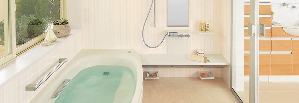 浴室のリフォーム、ユニットバスの交換などもお任せ下さい。